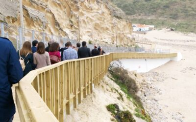 Praia do Magoito já tem novo acesso reabilitado