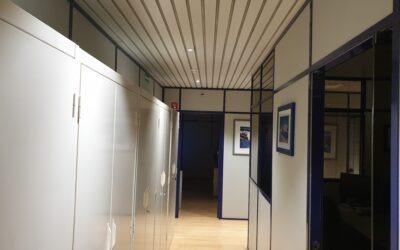 Sede da Prospectiva com novo sistema de iluminação