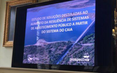 Prospectiva apresenta estudo para novo sistema de abastecimento público