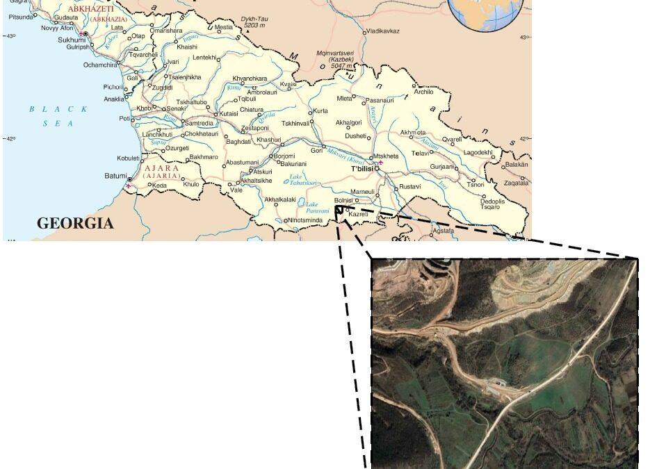 Projeto e construção dos sistemas de tratamento da água proveniente da mineração de Ouro e Cobre, em Madneuli – Geórgia