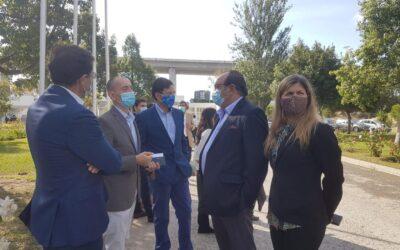Visita do administrador da Prospectiva à inauguração da 1ª fase da ETAR de Beirolas.