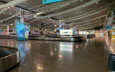 Aeroporto Faro – Aerogare – Remodelação da Sala de Recolha de Bagagens (piso 1) e Zona do Lanternim (Piso 3)