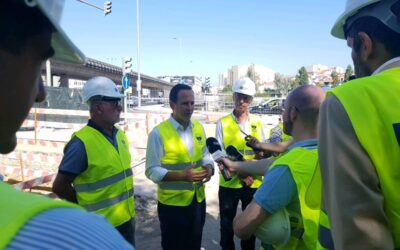 Presidente da Câmara Municipal de Lisboa visita primeiro túnel de PGDL