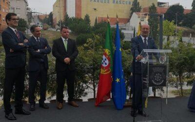 Ministro do ambiente inaugura novo intercetor de Rio Tinto