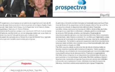 """Prospectiva no Anuário """"Quem é Quem"""" da Revista Anteprojectos"""