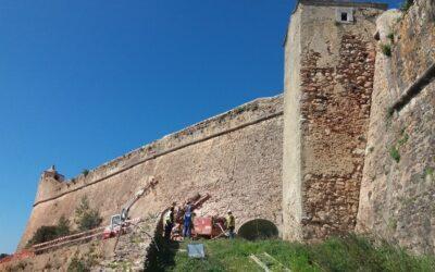 Empreitada de Intervenção de Natureza Estrutural Para Evitar Derrocadas na Encosta do Forte de São Filipe, Setúbal