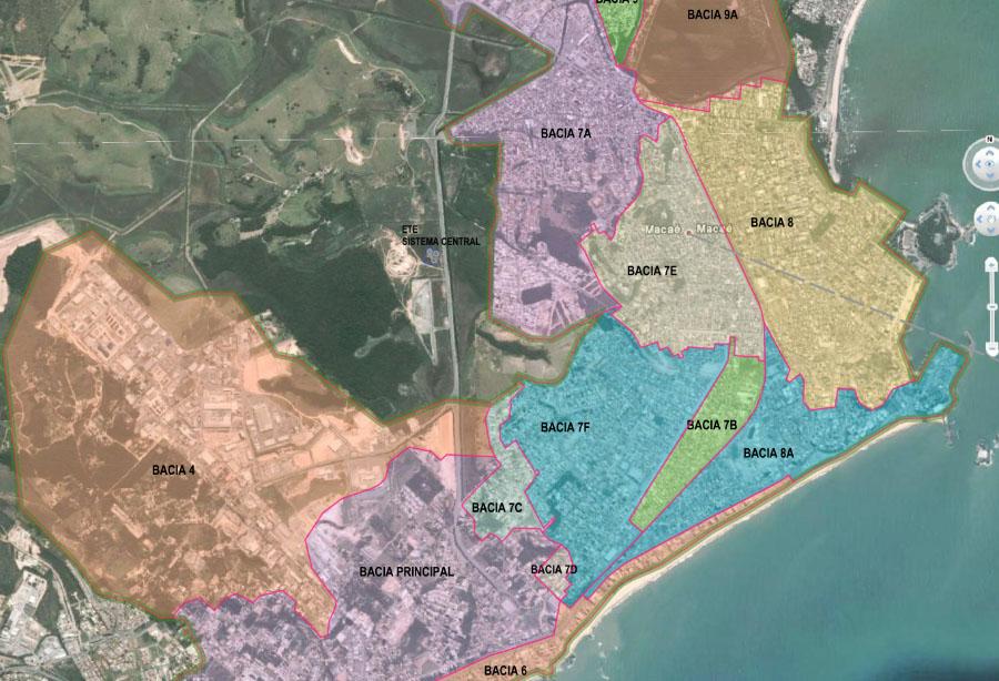 Projeto do Sistema de Esgotamento Sanitário Subsistema Centro – Municipio de Macaé