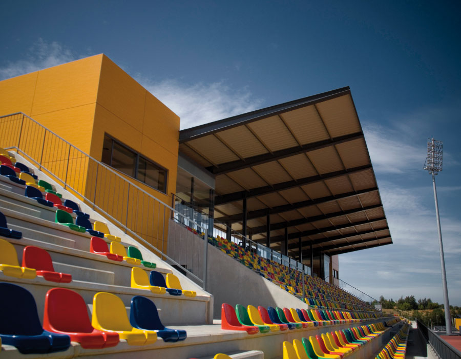 Bela Vista Municipal Stadium in Parchal