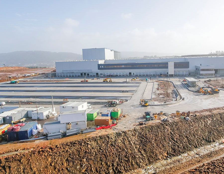 Construcción del Nuevo Entrepuesto de Santo Tirso