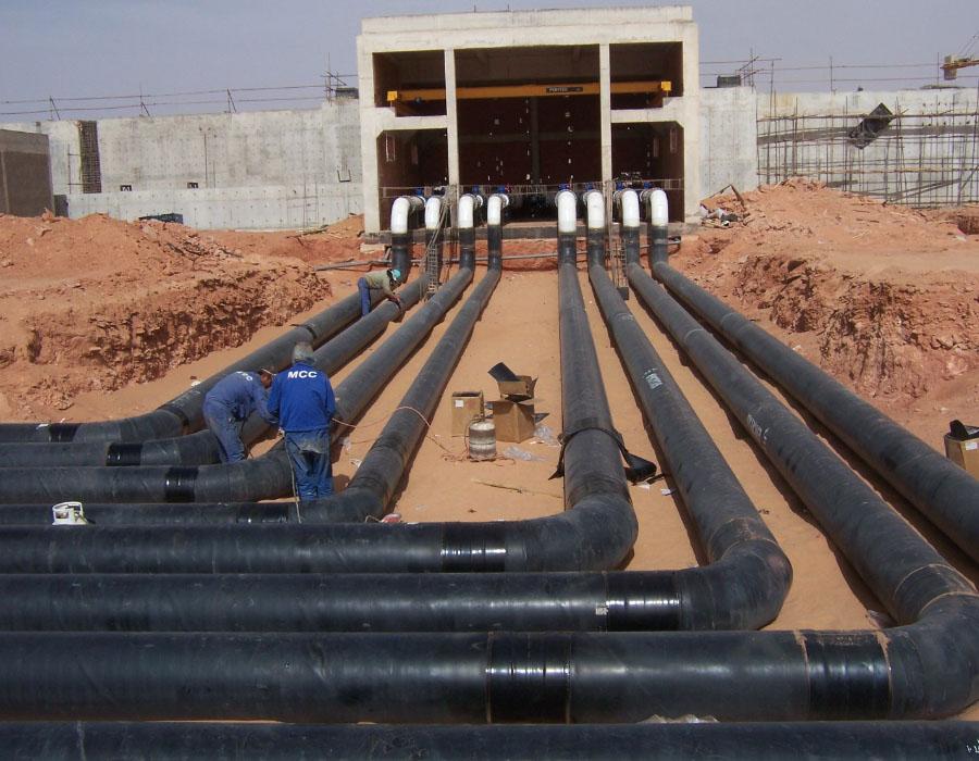 Projeto de abastecimento de água à Cidade de Tamanrasset a partir de In Salah, Argélia – Sistema de Colectores e recursos associados