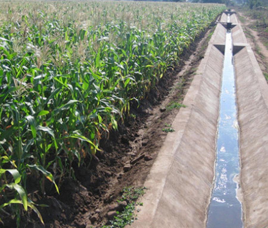 Projectos de irrigação de Chilingal e Tchanga