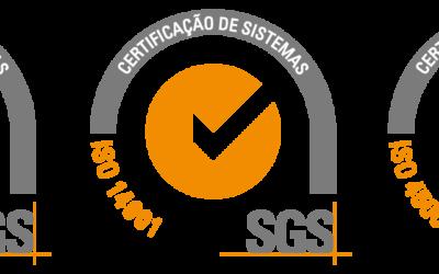 A Prospectiva renova certificação de Segurança, Ambiente e Qualidade