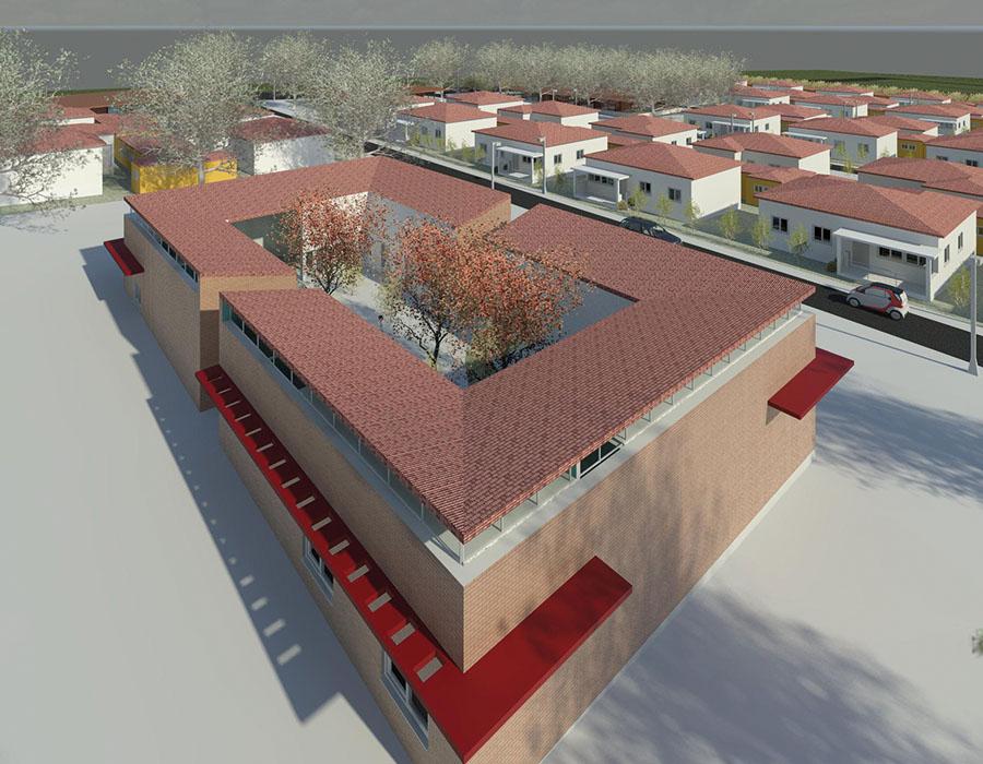 Plano Urbanístico, Levantamento Topográfico e projectos de infra-estruturas da Reserva Fundiária do Bocoio