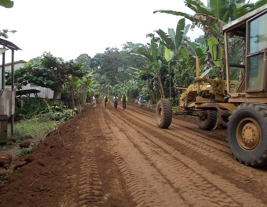 Obras de Reabilitação das Estradas EN1 – Agostinho Neto – Caldeiras, Gaspar – Sundy