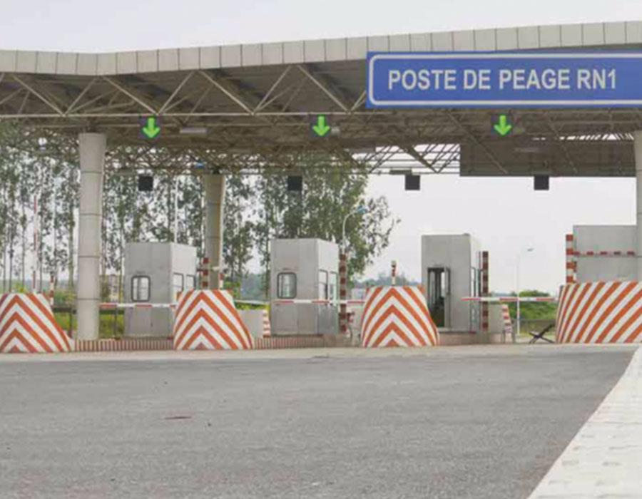 Estudo Técnico e Supervisão da Construção da Praça de Portagem na Estrada RN1