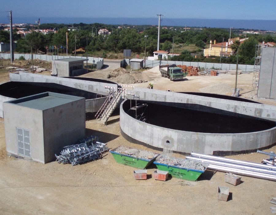 Beneficiação do tratamento de águas residuais do sistema de saneamento da Costa do Estoril