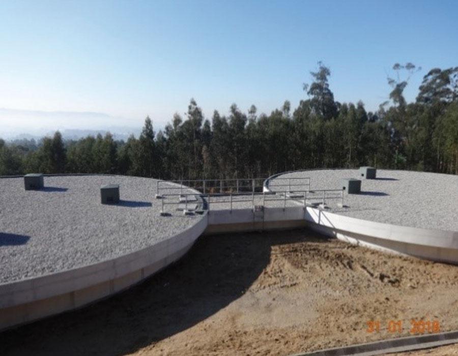 Subsistema de Abastecimento de Água de S. Jorge, Reservatórios de Milhões, Vila Franca e Barroselas e das respectivas ligações para abastecimento (V. Castelo)