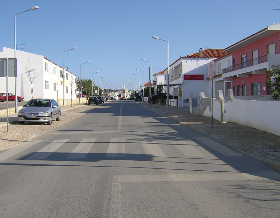 Requalificação das Infra-estruturas da Rua de acesso à Estação Ferroviária de Ferreiras