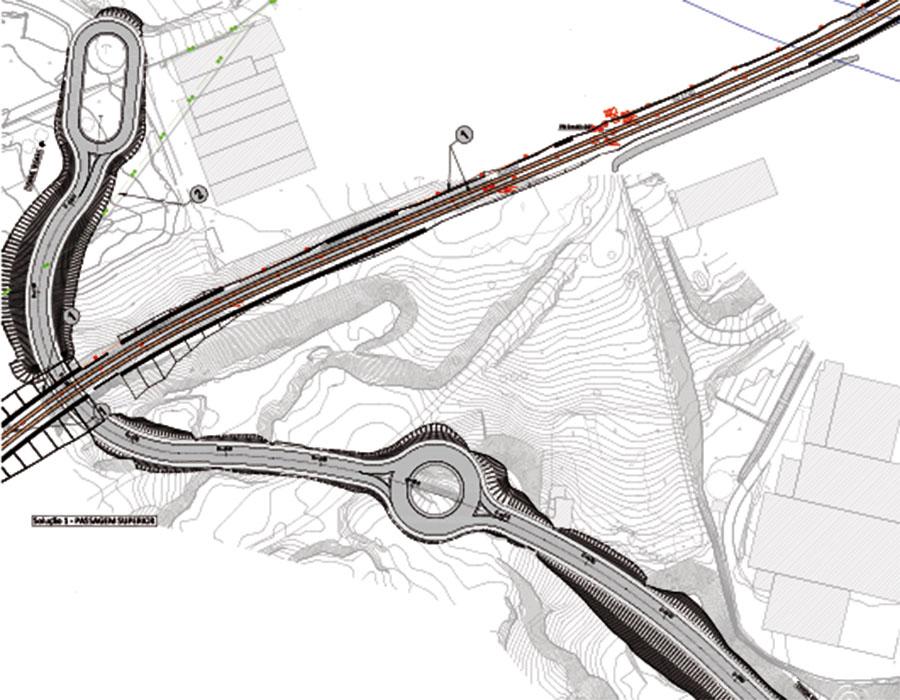 Supressão da PN do KM 40+060 da Linha do Oeste