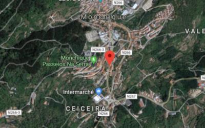 Intervenções na construção do troço da Amorosa, em Monchique