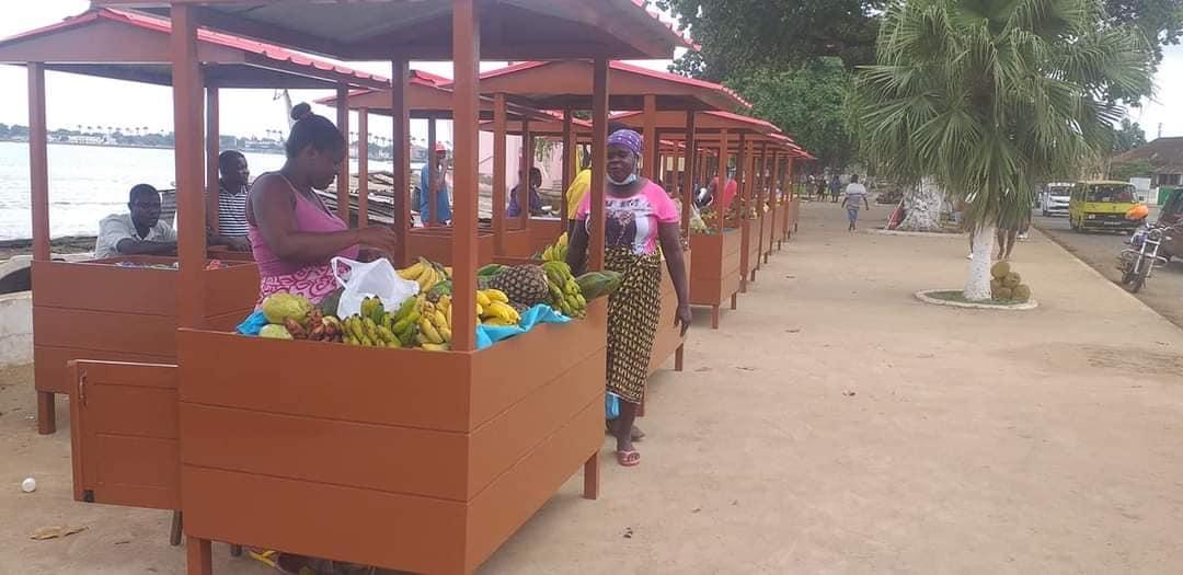 Arranque de mais uma empreitada com projeto PROSPECTIVA – EN1 – São Tomé e Príncipe