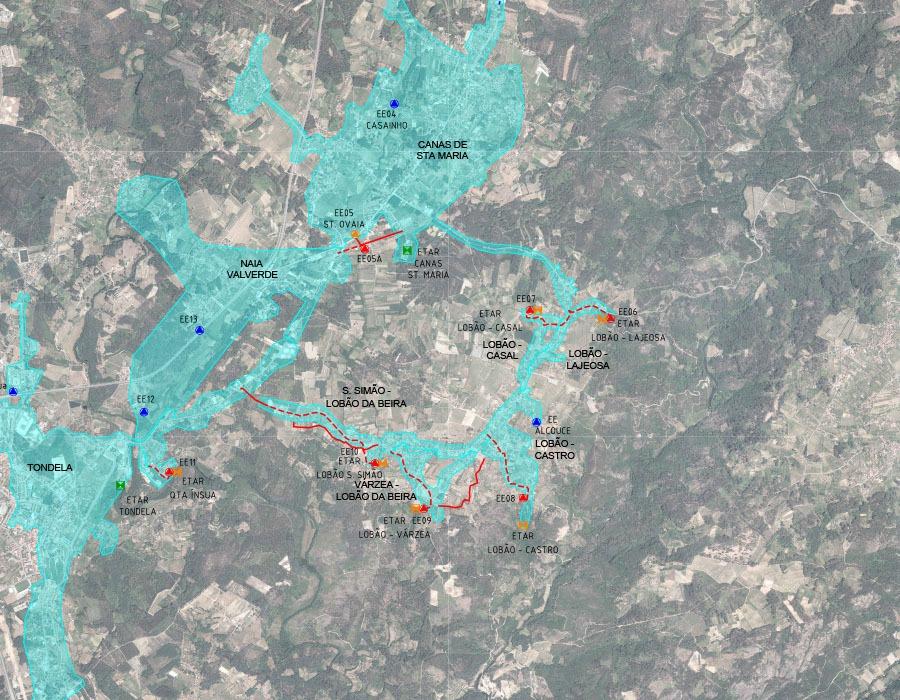 Requalificação de sistemas de drenagem e ETAR existentes no Concelho de Tondela