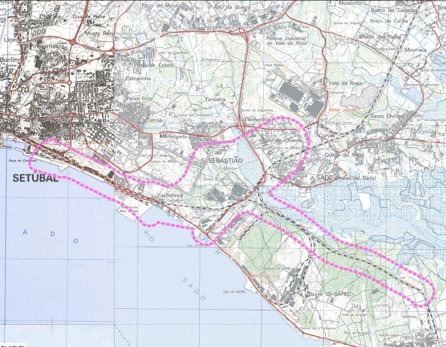 Projeto da Linha do Sul – Eliminação de Constrangimentos nas Estações de Praias-Sado e no Porto de Setúbal